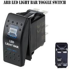 LED LIGHT BAR 12V <b>ARB Carling</b> Rocker Waterproof Toggle Switch ...