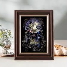 5D DIY <b>Diamond paintings</b> Mosaic <b>Wall Sticker</b> skull Cross Suitable ...