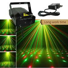 Mini <b>Laser Projector</b> Lights DJ Voice-active&Automatic Laser Stage ...