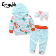 <b>Baby girl clothes spring</b> Long Sleeve Hooded Tops leopard floral ...