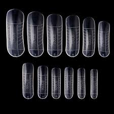 <b>120pcs</b>/<b>lot</b> Jelly Poly Gel Fake <b>Clear French Full</b> Cover Acrylic Nails ...
