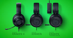 Competitive Gaming Headsets - The Razer Kraken Range | Razer ...