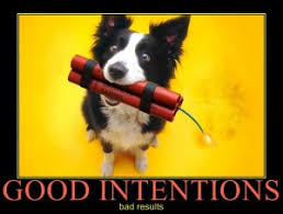 "Image result for caricature  of ""good intentions."""