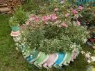 Как украсить огород своими руками из подручных