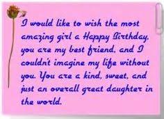 Birthday quotes for a daughter, happy birthday quotes to daughter ... via Relatably.com