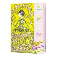 <b>Набор для творчества DJECO</b> 09500 Блестящие платья — купить ...