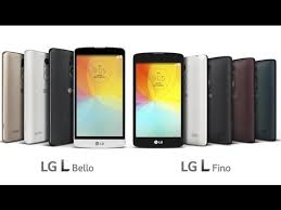 LG L Bello and LG L Fino two new smartphones announced and ...
