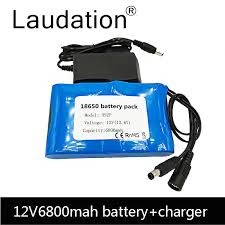 <b>laudation 12V</b> 10ah <b>Battery</b> 100% New High Capacity Protection ...