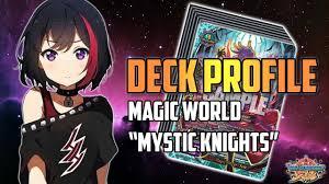 """Future Card Buddyfight Deck Profile : <b>Magic World</b> """"Mystic <b>Knights</b> ..."""