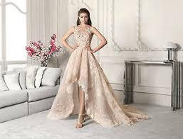 Vestido de encaje <b>Glamorous</b> Alta Baja Apliques para Boda Trajes ...