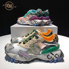 <b>RY RELAA women sneakers</b> 2018 leather fashion designer <b>shoes</b> ...