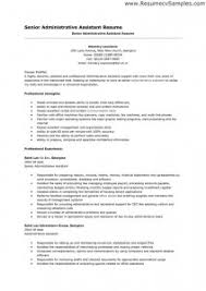resume examples senior administrative assistant resume summary of qualifications free resume templates microsoft word languages free resume template for microsoft word