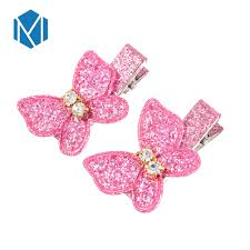 <b>M MISM 1pc</b> Fabric Flowers Hair Clip For Children Colorful Barrettes ...