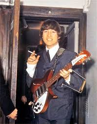 Image result for john lennon with rickenbacker