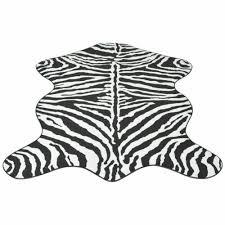 Rugs <b>Shaped Rug 150x220</b> cm Zebra Print D3C4 athena.com.pe