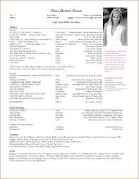resume examples acting resume sample acting resume format acting resume examples cv format latest sample resume templates update resume acting resume