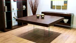 great dining table size room square