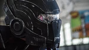 Model of the Week: 3D Printed <b>Mass Effect N7</b> Helmet [Helmet Hair!]