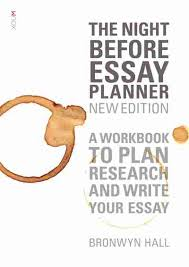 the night before essay planner new edition  newsouth books the night before essay planner new edition bronwyn hall