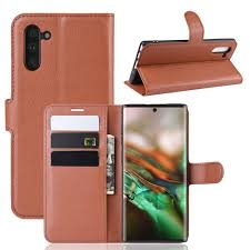 Card Protection <b>PU Leather Phone</b> Case for Samsung Galaxy Note ...
