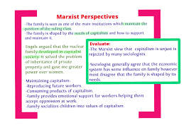 marxist views of the family com marxism