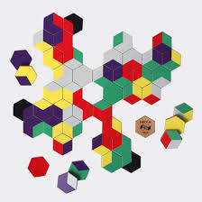 <b>Настольная игра BADLAB Настольная игра</b> цветное домино ...