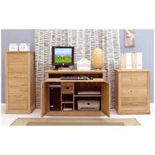 mobel solid oak furniture hidden home office computer pc desk and felt pads ebay brand innovative hidden