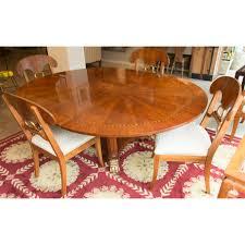 Henredon Dining Room Table Custom Walnut Dining Table Detail Of Ebony Inlay By Canton Studio