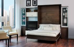 bedroom wall bed space saving furniture with compact table and modern chair trundle bed frame beautiful murphy bed desk