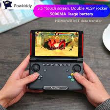 <b>Powkiddy X18 Andriod Handheld</b> Game Console 5.5 INCH ...