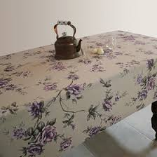 <b>Скатерть ALBA Вальс цветов</b> фиолетовая 140х200 см (3892834 ...