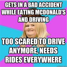 scumbag fat girl memes | quickmeme via Relatably.com