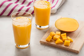 Image result for mango buttermilk smoothie in a blender image