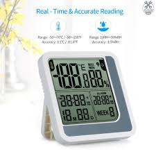 Weather Stations Portable <b>Mini Digital LCD</b> Thermometer ...
