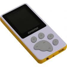 <b>MP3 плеер Digma S4</b> 8 Гб Белый — купить, цена и ...