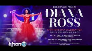 <b>Diana Ross</b> coming to Hawaii in May | KHON2