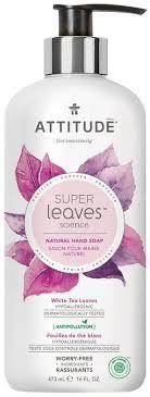<b>Attitude Super</b> Leaves <b>Жидкое мыло</b> Листья белого чая 473 мл ...