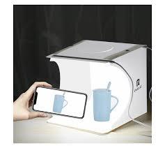 <b>Puluz 20cm Folding</b> 550LM Studio Photo Lighting Box with LED ...