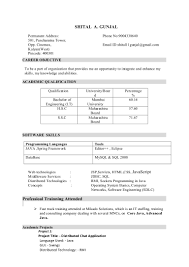 resume java developer trainee b e