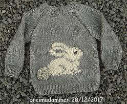 Sweet Bunny Sweater pattern by de breimadammen - Ravelry