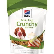 Hill's® <b>Grain Free Crunchy</b> Naturals with Chicken & Apples dog treats