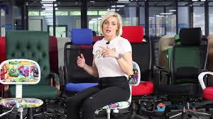 Обзор детского <b>кресла Chairman Kids 101</b> - YouTube