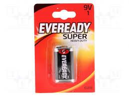 621063 <b>ENERGIZER</b> - <b>Батарея</b>: цинк-хлоридная | 9В; <b>6F22</b> ...