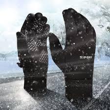Мужские зимние теплые перчатки водонепроницаемые ... - Vova