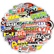 <b>100 PCS</b> Racing <b>Car Stickers Car</b> Styling <b>JDM</b> Waterproof <b>Sticker</b> To ...