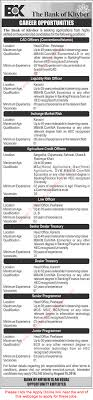 bank of khyber jobs 2016 bok apply online agriculture bank of khyber jobs 2016 bok apply online agriculture credit officers programmers others