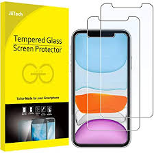 JETech <b>Screen Protector</b> for iPhone 11 and iPhone XR 6.1-Inch ...
