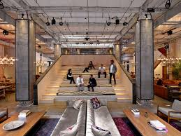 design charming neuehouse new york cool offices spaces ideas charming cool office design