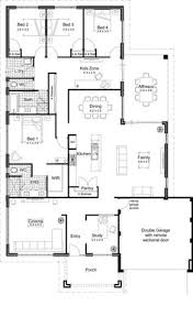 Small house plans  Small houses and Floor plans on PinterestOpen Floor Plans For Homes   modern open floor plans for one story homes