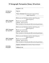 paragraph essay outline   essay examplehow to structure  paragraph essay pycaqyta websitebiz
